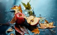 عکس سیب پاییزی