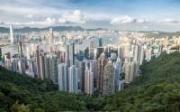 نمایی زیبا از هنگ کنگ