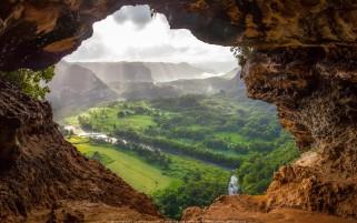 عکس زیبا از دریچه طبیعت