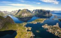 عکس زیبا از لفتن نروژ