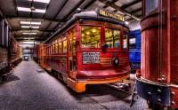 عکس بسیار زیبا از قطار قدیمی 655 هالیوود