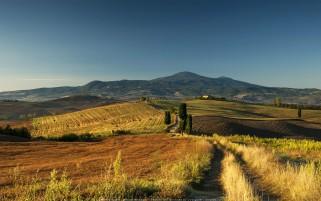 عکس زیبا از توسکانی، ایتالیا