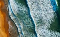 عکس ساحل از نمای بالا