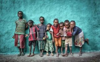 عکس ژست کودکان آفریقایی