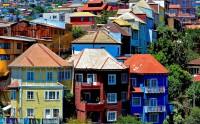 عکس زیبا و شاد کیفت بالا از خانه های رنگی