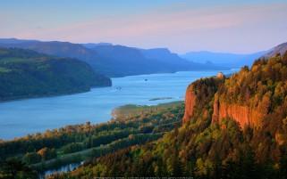 عکس رودخانه کلمبیا، ارگان، آمریکا