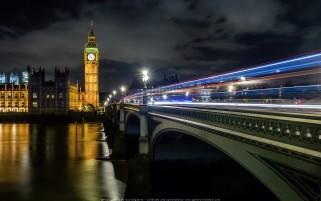 عکس حرفه ای زیبا و کیفیت بالا شب لندن انگلیس گالری عکس مسافرت