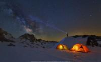 عکس حرفه ای شب و ستارگان