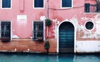 عکس زیبا از دیوار در ونیز ایتالیا