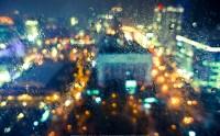 شب دل انگیز بارانی