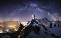عکس زیبا از شب پر ستاره از گالری عکس آسمان
