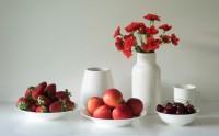 عکس زیبا از چیدمان میوه های خوشمزه تابستانی با کیفیت بالا