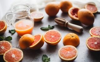 عکس زیبا از ویتامین ث پرتقال های خوش رنگ