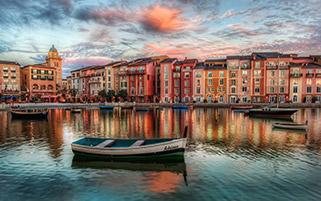 دهکده پرتفینو،ایتالیا