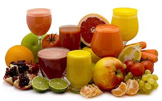 میوه و آب میوه