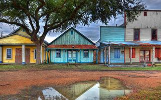 خانه های رنگی،تگزاس