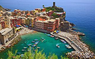 شهر ورنازا،ایتالیا