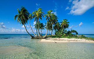 جزیره کوچک،بلایز،آمریکای مرکزی