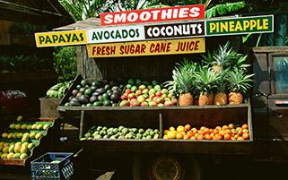 میوه فروشی،هاوایی