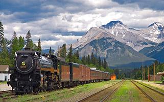ایستگاه قطار،آلبرتا،کانادا