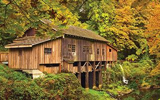 آسیاب چوبی،آغاز پاییز