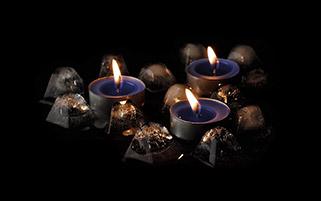 شمع های رمانتیک