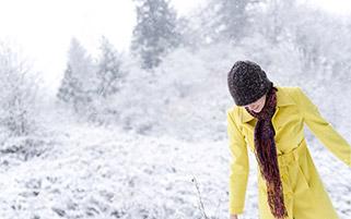 شادی در برف