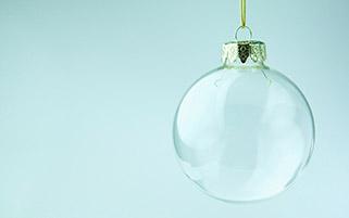 گوی شیشه ای کریسمس