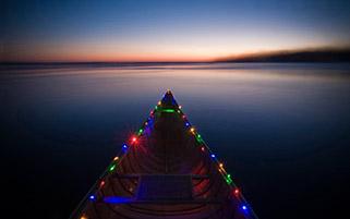 قایق کریسمسی