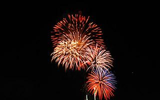 آتش بازی،سال نو میالادی