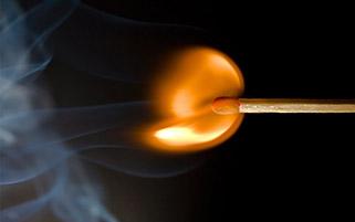 شعله کبریت
