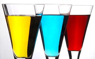 نوشیدنی های رنگی