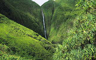 آبشار پاپالااوآ،هاوایی