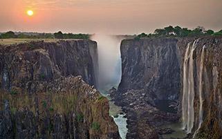 آبشار ویکتوریا،زامبیا