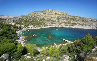 خلیج آنتونی کوئین،جزیره رودز،یونان