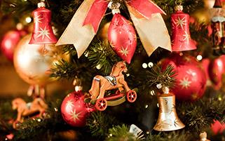 تزئینات درخت کریسمس