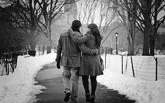 قدم زدن رمانتیک
