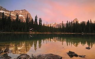 دریاچه اهارا،کانادا