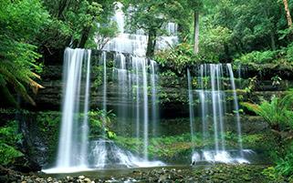 آبشار راسل،تاسمانیا