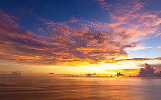 غروب بالی،اندونزی
