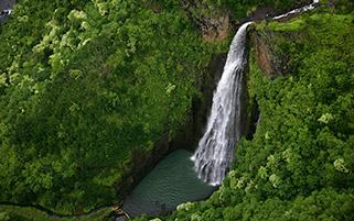 آبشار پارک جوراسیک