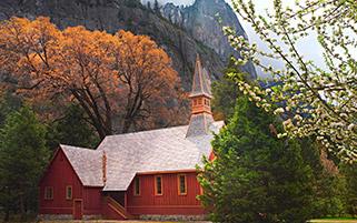 پارک ملی یوسمیت،کالیفرنیا،بهار