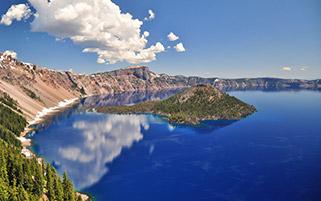 دریاچه کریتر،ارگان