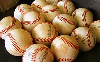 توپ های بیس بال