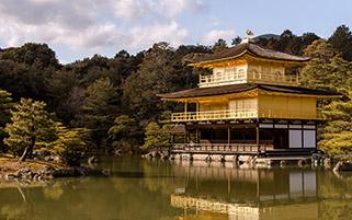 معبد عمارت طلایی،ژاپن