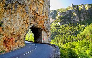 جاده کوهستانی،سونیز،فرانسه