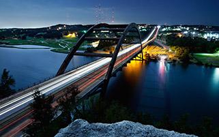 پل پنی بیکر در آستین، تگزاس