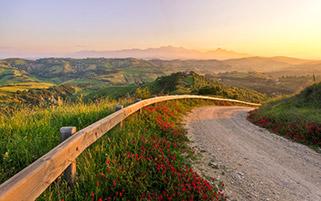 غروب افسانه ای،آبرزو،ایتالیا