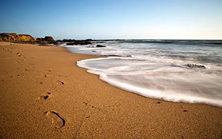 رد پا در ساحل