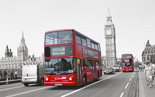 اتوبوس شهری،لندن